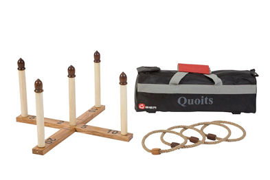 Quoits Deluxe Garden Games U525