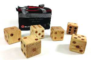 Dice Large Wooden UG520