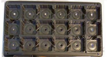 Carry Trays for 9cm pots Case of 50